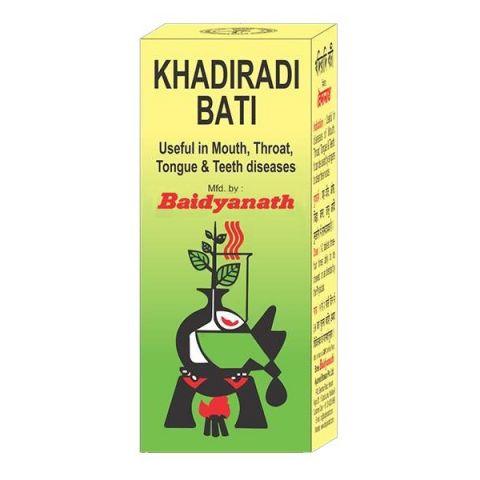 Кхадиради Вати Baidyanath Khadiradi Bati