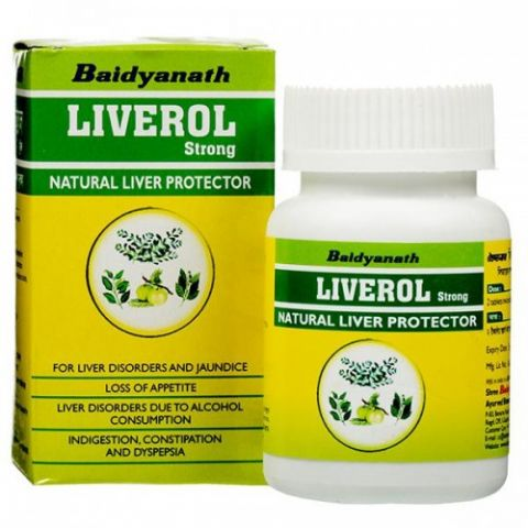 Ливерол Baidyanath Liverol Strong