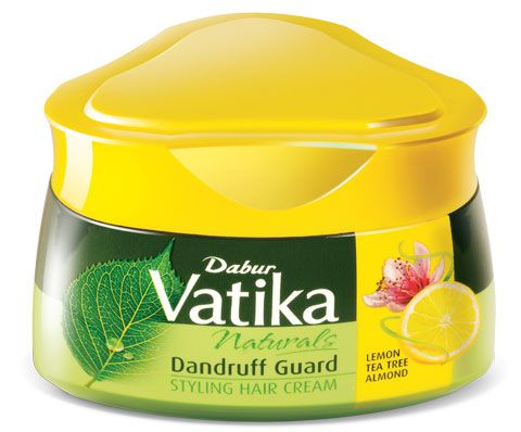 Крем для волос от перхоти - Dabur Vatika Naturals Dandruff Guard Styling Hair  Cream