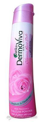 Dabur DermoViva Classic Rose Talc