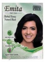 Emita Herbal Henna Hair Colour Natural Black