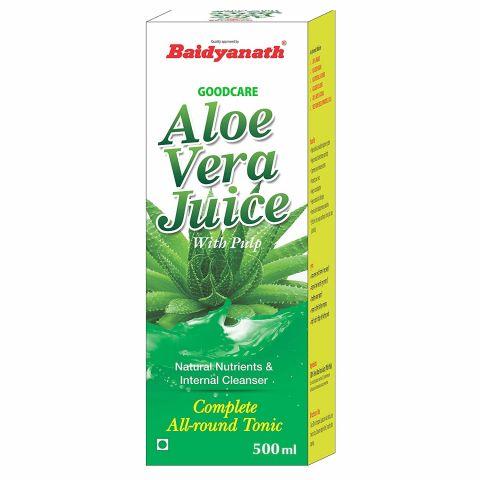 Сок Алоэ Вера с мякотью 500 мл Goodcare Aloe Vera Juice 500 ml