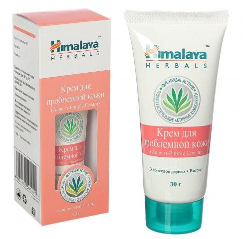 Крем для проблемной кожи от угрей и прыщей Himalaya Herbals Acne-n-Pimple Cream