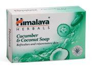 Мыло освежающее с огурцом и кокосовым маслом