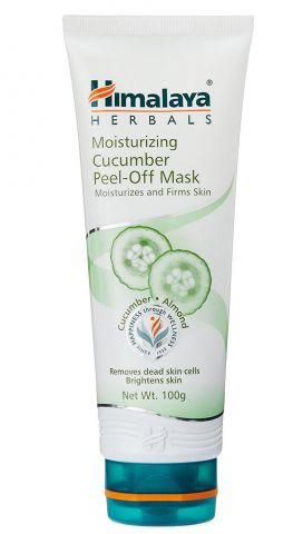 Маска для лица отшелушивающая с огурцом  Himalaya Herbals Cucumber Peel-Off Mask