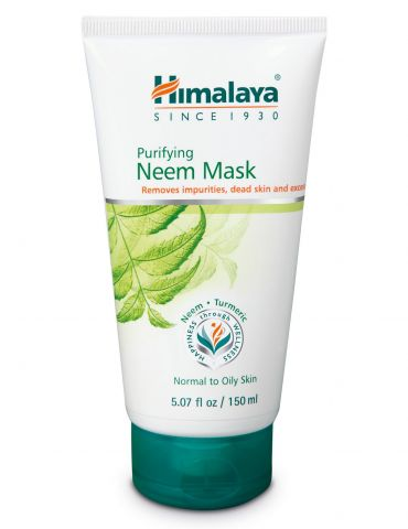Маска для лица антибактериальная с Нимом Himalaya Herbals Neem Face Mask