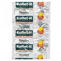 Himalaya Koflet-H Lemon Lozenges