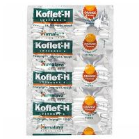 Himalaya Koflet-H Orange Lozenges
