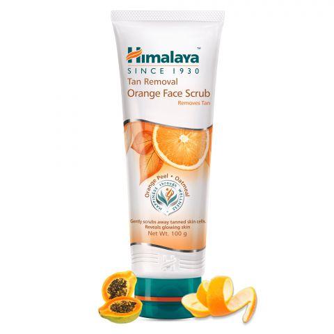 Скраб для лица осветляющий Апельсин Himalaya Tan Removal Orange Face Scrub