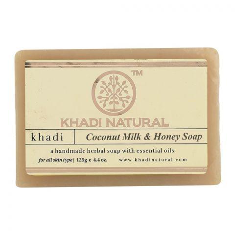 Мыло Кокос и мёд Khadi Coconut milk and Honey Soap