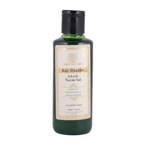 Шампунь Ним Сат Khadi Hair Cleanser Neem Sat