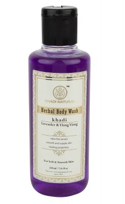 Khadi Herbal Body Wash Lavender and Ylang Ylang