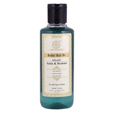 Khadi Herbal Hair Oil Amla and Brahmi