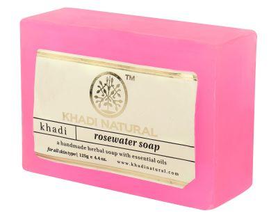 Khadi Herbal Rose Water Soap