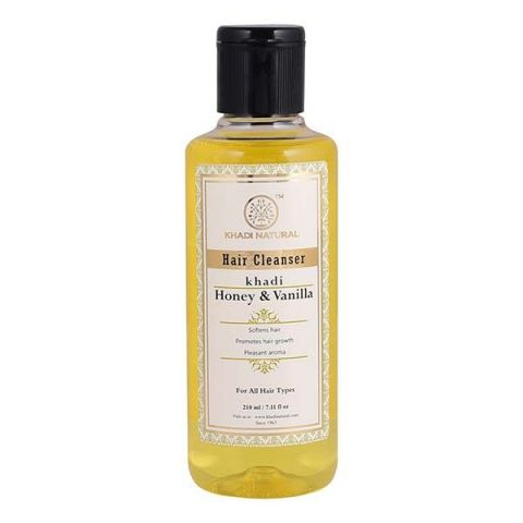Шампунь Мед и Ваниль Khadi Honey & Vanilla Hair Cleanser