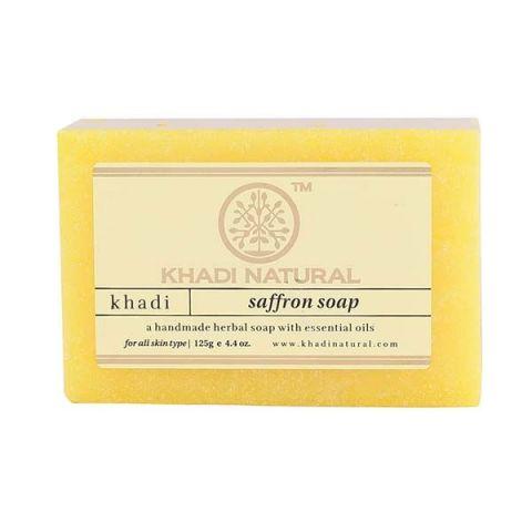 Мыло Шафран Khadi Saffron Soap