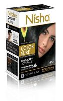 Nisha Color Sure Hair Color Natural Black