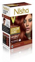 Nisha Color Sure Hair Color Copper Red