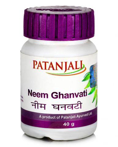Ним Гханвати Patanjali Neem Ghanvati