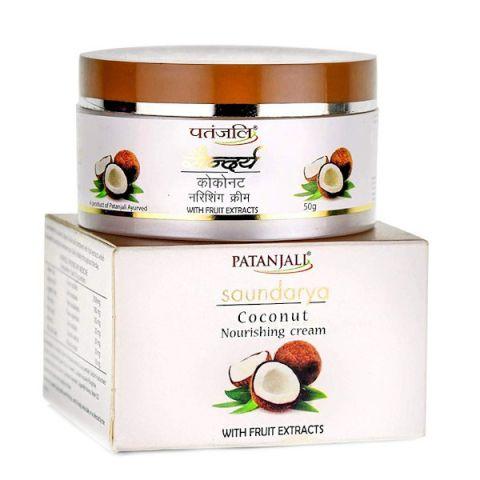 Крем питательный Саундарья с кокосом Patanjali Saundarya Coconut Nourishing Cream