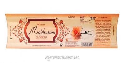 Patanjali Madhuram Agarbatti Rose
