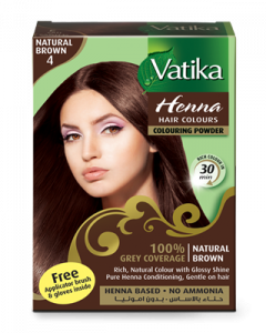 Dabur Vatika Henna Hair Colours Natural Brown