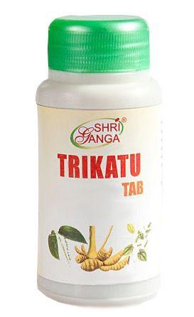 Трикату таблетки Shri Ganga Trikatu tab