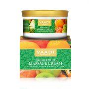 Крем массажный Свежие фрукты с яблоком, папайя и маслом кокума