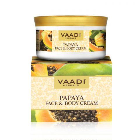 Крем для лица и тела Папайя Vaadi Papaya Face & Body Cream